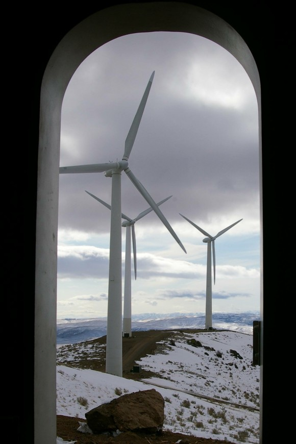 Lime Wind Turbines