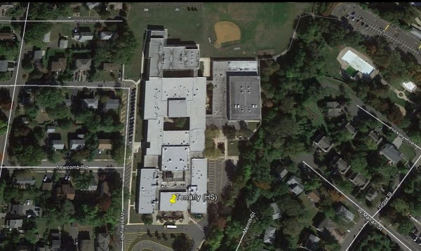 Tenafly High School Aerial